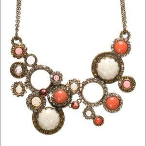 Sorrelli Multi Circle Bib Necklace in Andalusia